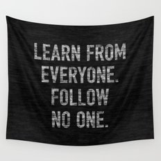 Learn from Everyone Wall Tapestry