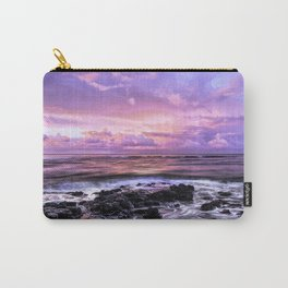 Purple Sunrise, Poipu Beach, Kauai, Hawaii Carry-All Pouch