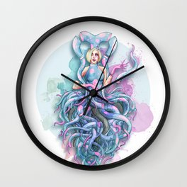 Octupus Dress Wall Clock