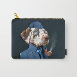 Dog Sherlock Holmes Carry-All Pouch