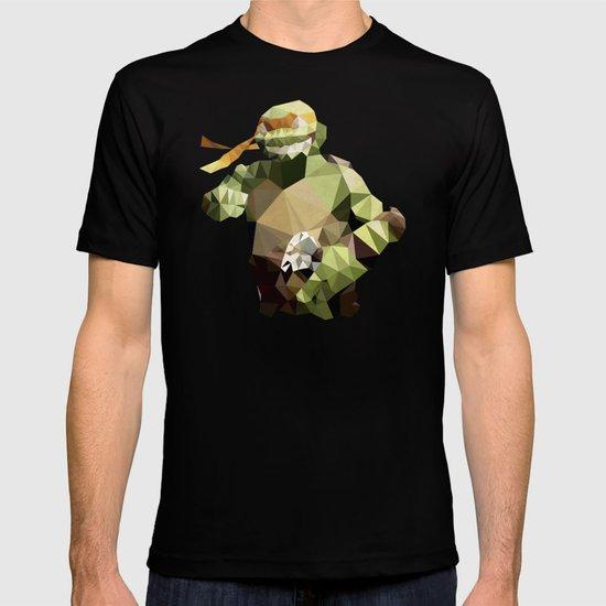 Polygon Heroes - Michelangelo T-shirt