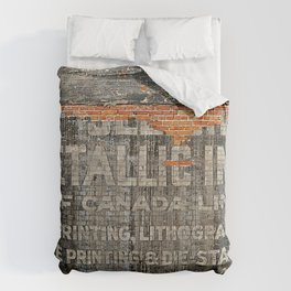 Think Ink Comforters