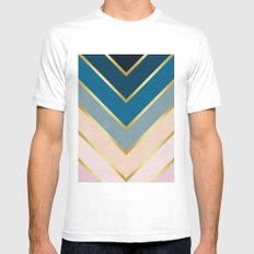 Golden direction White MEDIUM Mens Fitted Tee