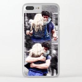 Bellarke hug Clear iPhone Case