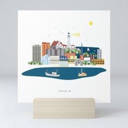 Portland ME Mini Art Print