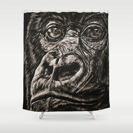 Gentle Giant Gorilla Shower Curtain