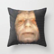Emporer- StarWars - Pantone Swatch Art Throw Pillow