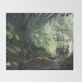 Un Pirate Throw Blanket