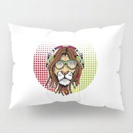 Rastafari Lion Pillow Sham