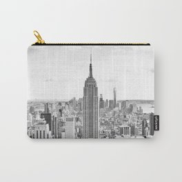 New York City, Manhattan (Black & White) Carry-All Pouch