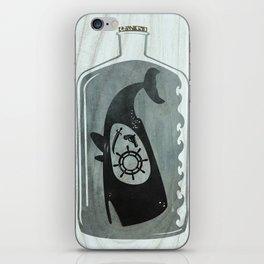 Whale in a Bottle | Ship's Wheel iPhone Skin