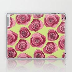 Bright Rose Pattern Laptop & iPad Skin