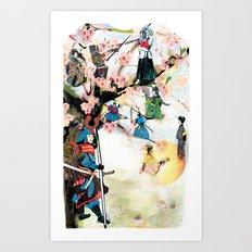 Japanese 2 Art Print
