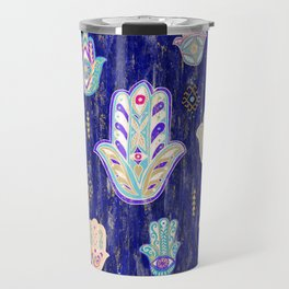 Hamsa Mystical Protection Travel Mug