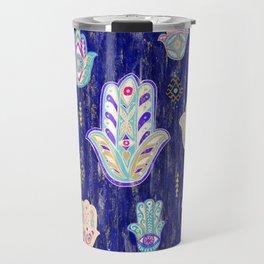 Hamsa Mystical Protection Travel Mug