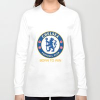 chelsea Long Sleeve T-shirts featuring Chelsea by DeBUM
