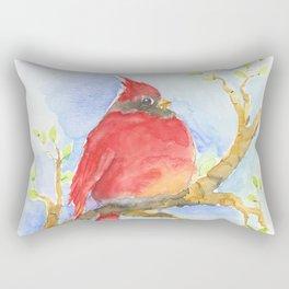 Mr. Cardinal Rectangular Pillow