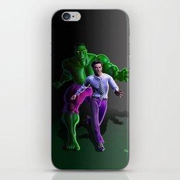 Bruce's Alter Ego iPhone Skin
