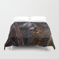 thranduil Duvet Covers featuring Evergreen by Jay Lockwood Carpenter