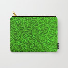 Retro Floral Lime Carry-All Pouch