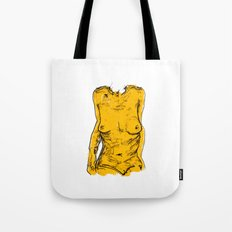 The Yellow Bits Tote Bag
