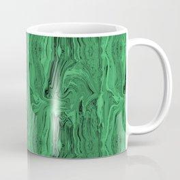 Emerald marble swirl Coffee Mug