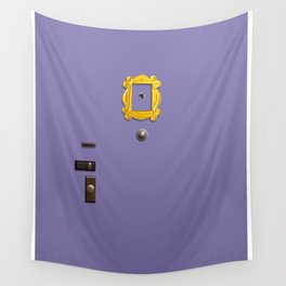 Friends Door Wall Tapestry