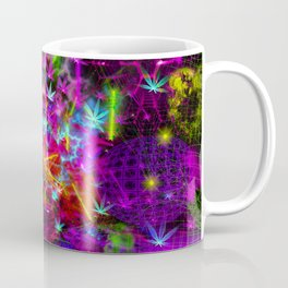 Cannabinoid Space-Time Warp Coffee Mug