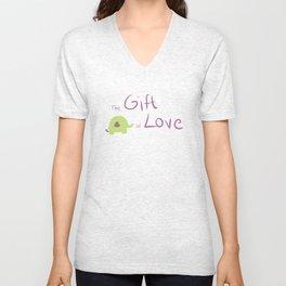 The gift of love Unisex V-Neck
