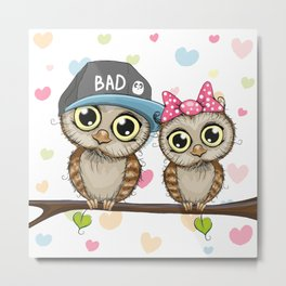 CUTE--OWL Metal Print
