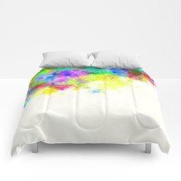 Paint Splashes Comforters