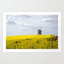 Chesterton Windmill Art Print