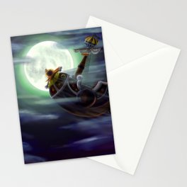 Sunny in the moon Stationery Cards