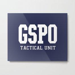 GSPO logo Metal Print