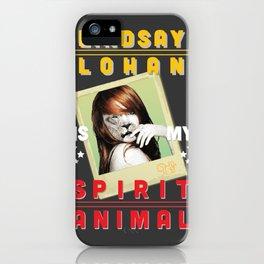 Lindsay Lohan Is My Spirit Animal iPhone Case