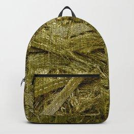 Golden fibers Backpack