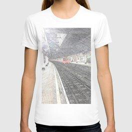Temple Station London 1 T-shirt