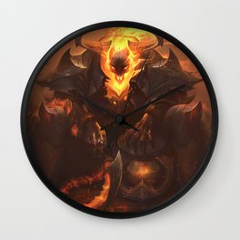 High Noon Thresh League Of Legends Wall Clock