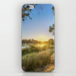 River Sunrise iPhone Skin