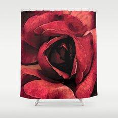 Inside roses colors urban fashion culture Jacob's 1968 Paris Agency Shower Curtain
