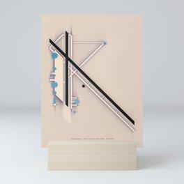 a long view Mini Art Print