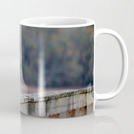 Snowy Walking The Line Coffee Mug