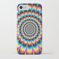 trippy iPhone & iPod Cases featuring Trippy by Hipster's Wonderland