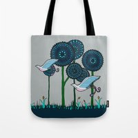 phoenix Tote Bags featuring Phoenix by Evi Radauscher