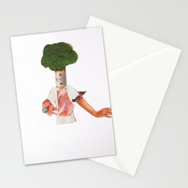 Normal Life · Hier kocht der Chef Stationery Cards