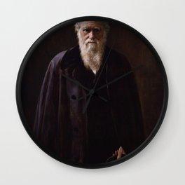 John Collier - Charles Robert Darwin Wall Clock