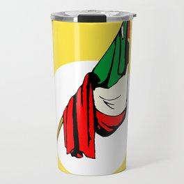 La Bandera Mexican Loteria Card Travel Mug