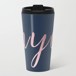 nyc shine Travel Mug