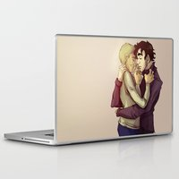 johnlock Laptop & iPad Skins featuring Johnlock by il cielo capovolto