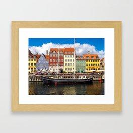 Copenhagen Harbor Framed Art Print